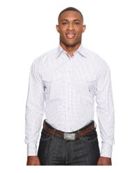 Ariat | White Big & Tall Aiden Double Pocket Snap for Men | Lyst