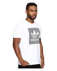 Adidas Originals - White Blackbird Word Camo Tee for Men - Lyst