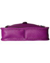 Rebecca Minkoff | Purple Mini Unlined Feed Bag | Lyst