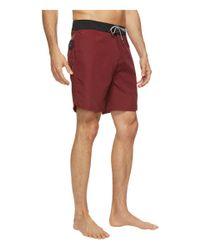 "Globe - Red Dana 18"" Boardshorts for Men - Lyst"