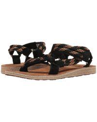 Teva Black Original Universal Rope for men