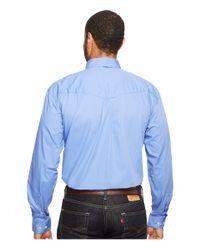 Roper - Blue 0856 Solid Poplin - Periwinkle for Men - Lyst