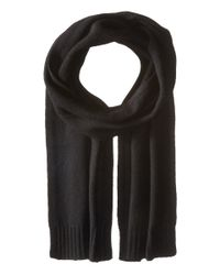 VINCE | Black Cashmere Scarf for Men | Lyst