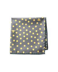 Vivienne Westwood - Gray Dots Pochette for Men - Lyst