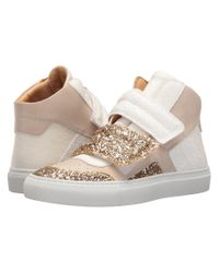 MM6 by Maison Martin Margiela | Multicolor Mixed Glitter High Top | Lyst