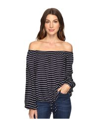 Brigitte Bailey | Blue Carlisia Off The Shoulder Top | Lyst