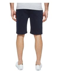 7 For All Mankind Blue Luxe Performance Sateen Chino Shorts for men