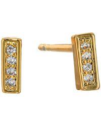 Gorjana - Metallic Mave Shimmer Mini Studs Earrings - Lyst