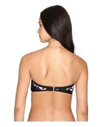 Kate Spade - Black Posey Grove Bandeau Bikini Top - Lyst