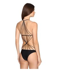 Mikoh Swimwear | Black Seychelles One-piece | Lyst