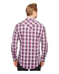 Rock And Roll Cowboy | Gray Long Sleeve Snap B2s1252 for Men | Lyst