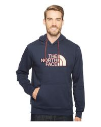 The North Face Blue Americana Pullover Hoodie for men