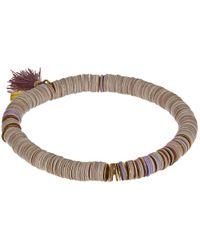 Chan Luu | Multicolor Sequin Tassel Stretch Bracelet | Lyst