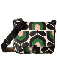 a43af8568a Orla Kiely. Women s Green Matt Laminated Stripe Tulip Print Small Satchel.  See more Orla Kiely Shoulder bags.