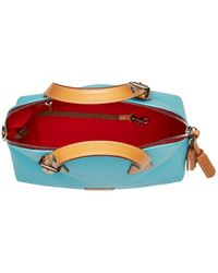 Dooney & Bourke - Blue Patterson Small Audrey - Lyst