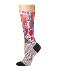 Stance - Yes Darling (pink) Women's Crew Cut Socks Shoes - Lyst