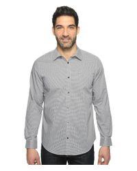 Calvin Klein | Gray Infinite Cool Check Button Down for Men | Lyst