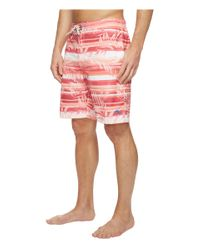 Tommy Bahama Multicolor Baja Leaf On The Water Swim Trunk for men