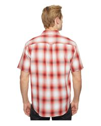 Tommy Bahama Red Plaid For You Camp Shirt for men