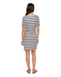 Splendid - Multicolor Topsail Stripe Bodycon Dress - Lyst
