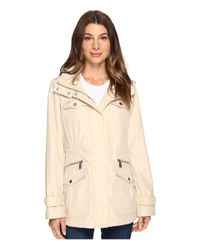MICHAEL Michael Kors | Natural Four-pocket Hooded Anorak M322149r74 | Lyst