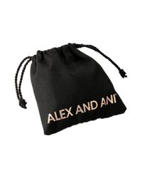 ALEX AND ANI - Metallic Because I Love You Sister Ii Bracelet - Lyst