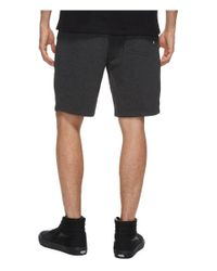 """Vans Black Core Basic Fleece Shorts 20"""" for men"""