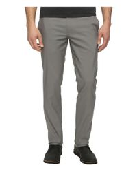 Perry Ellis | Gray Slim Fit Stretch Twill Chino Pants for Men | Lyst