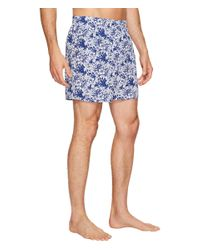 Vineyard Vines Blue Two-tone Floral Boxer for men