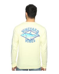 Vineyard Vines | Multicolor Long Sleeve Bonefish Diamond Pocket T-shirt for Men | Lyst