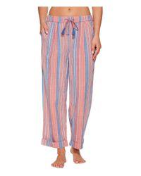 Lucky Brand | Multicolor Printed Tassel Tie Pajama Pants | Lyst