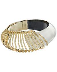 Alexis Bittar | Metallic Coiled Hinge Bracelet | Lyst