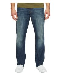 Mavi Jeans Blue Myles Casual Straight Jeans In Shaded Railtown for men