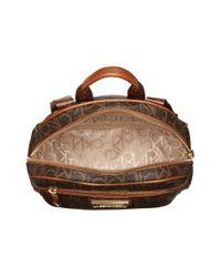 Calvin Klein Brown Dorothy Monogram Backpack