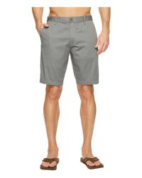 Reef | Gray Moving On 3 Shorts for Men | Lyst