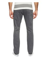 AG Jeans Gray Graduate Tailored Leg Twill In Sulfur Castle Rock for men