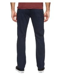 AG Jeans Blue Graduate Tailored Leg Twill In Sulfur Night Sea for men