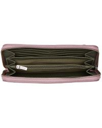 Fossil Multicolor Emma Rfid Large Zip Clutch