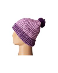 Under Armour | Purple Shimmer Pom Beanie (youth) | Lyst