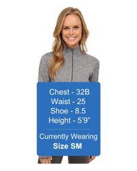 Nike - Gray Dri-fittm Element Half Zip - Lyst