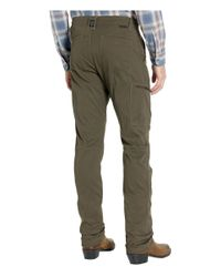 Wrangler Brown Atg Outdoor Eco Utility Pants for men