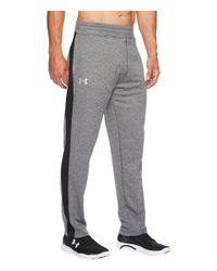 Under Armour Gray Tech Terry Pants - M - Grey for men