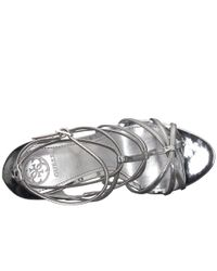 Guess Metallic Kico (gold Synthetic) Women's Sandals