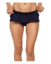 Carve Designs Blue Playa Skirt Bottom