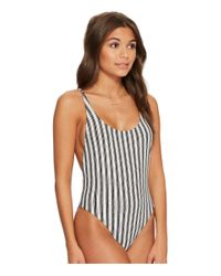 Billabong Multicolor Get In Line One-piece