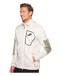 Nike White Sportswear Advance 15 Jacket for men