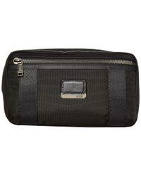 Tumi Black Alpha Bravo Reno Kit With Expansion Bags for men