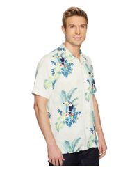 Tommy Bahama Blue Tommy The Toucan Camp Shirt for men