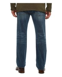 7 For All Mankind - Blue Luxe Performance Austyn Relaxed Straight Leg In Bedrock for Men - Lyst