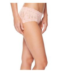 Hanky Panky - Pink Signature Lace Girl-kini (odyssey Blue) Women's Underwear - Lyst